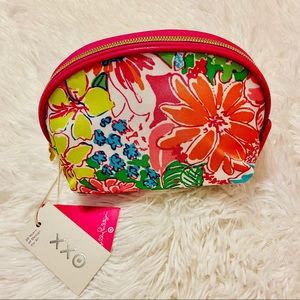 Lilly Pulitzer for Target Floral Cosmetics Bag New